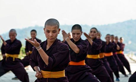 How was Kung Fu created?